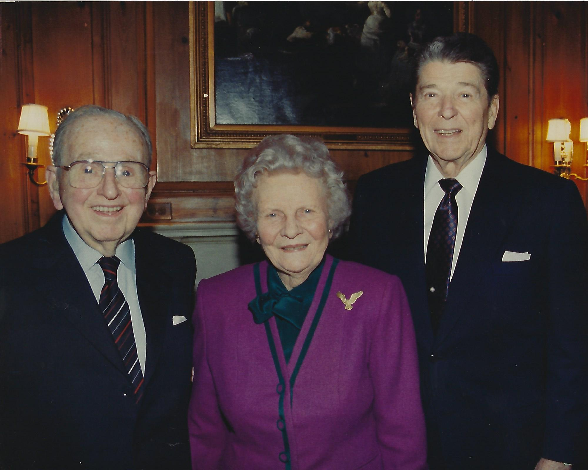 Norman_Vincent_Peale_Ruth_Stafford_PealeRONALD REAGAN